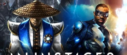 'injustice 2' debuts electrifying Raiden trailer, reveals Black Lightning(THUNDERONE/YouTube Screenshot)