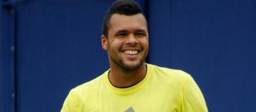 Jo-Wilfried Tsonga hit 38 winners to beat Lajovic in two hours and 48 minutes -- Carine06 via WikiCommons