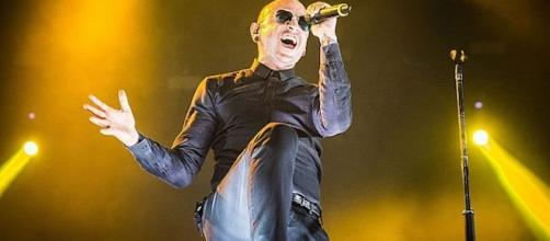 Linkin Park's Chester Bennington/ Photo via Flickr, Rubén G. Herrera