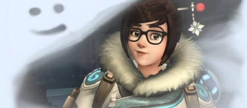 'Overwatch' hero Mei. (image source: YouTube/Overwatch)