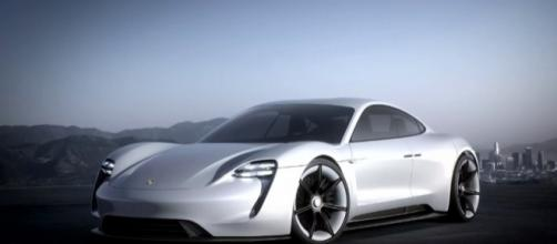 Porsche Mission E, Image Credit: Porsche / YouTube