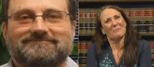 Randy Potter was found 8 months after being reported missing and his wife is demanding answers. [Image: YouTube/KCTV5 News]