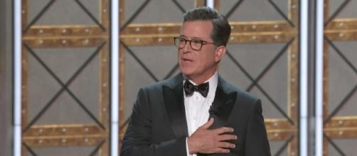 Stephen Colbert hosts Emmy Awards 2017. (TV Guide / YouTube)