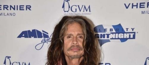 Steven Tyler no Celebrity Fight Night