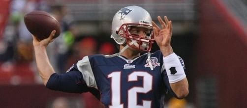 Tom Brady has improved with age- Photo by Keith Allison- https://www.flickr.com/photos/keithallison/6824854509