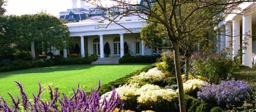 White House Rose Garden in the Fall - White House Historical ... - Youtube Screen grab