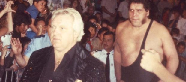 Bobby Heenan and Andre The Giant/ photo by John McKeon via Flickr