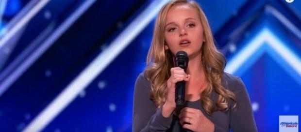 Evie Clair, Image Credit: America's Got Talent / YouTube