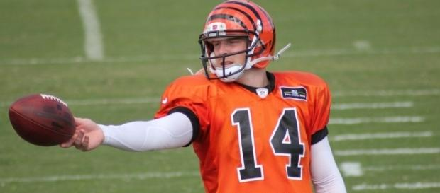 QB Andy Dalton [Image by Navin75 |Flickr| Cropped | CC BY-SA 2.0 ]