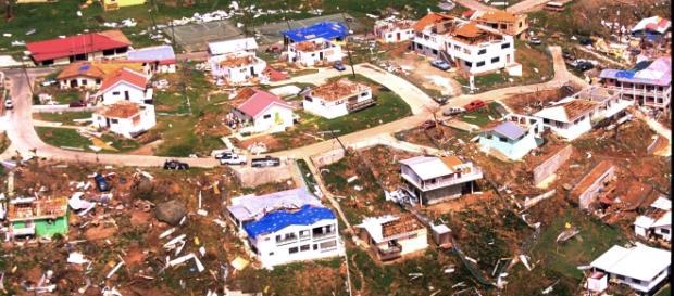 The devastation of British Territories. FEMA