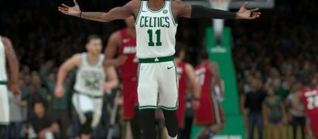 NBA 2K18 screenshot/ photo by @NBA2K via Twitter