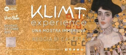 Apertura serale Klimt experience - Reggia di Caserta.