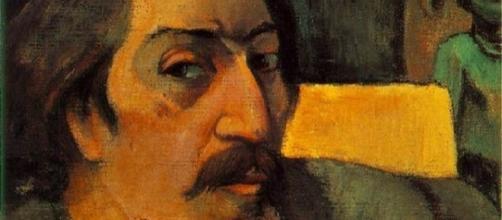 Autorretrato de Paul Gauguin, cuando todavía residía en la metrópoli.