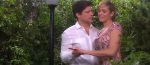 "Eric and Nicole will be closer again in ""Days of Our LIves"" but might not be reconciling./Pictured Nicole Brady, YouTube"
