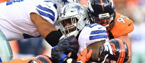 Ezekiel Elliott Quit on the Dallas Cowboys Sunday and NFL Media is ... - Youtube screen grab