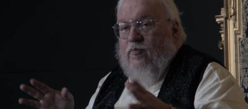 "George RR Martin has yet to announce the release date of ""The Winds of Winter"" novel. Photo by blinkbox Books/YouTube Screenshot"