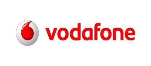 Il logo storico della compagnia telefonica Vodafone