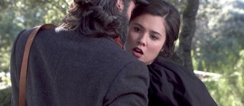 Il Segreto, spoiler dal 20 al 23/09: scontro fatale tra Maria e Severiano