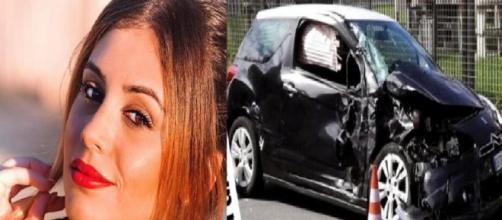 Incidente stradale per Giulia Latini: distrutta l'auto - chedonna.it