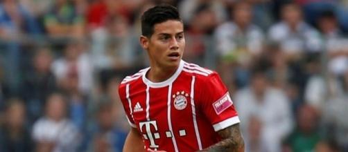 James foi o grande nome da vitória do Bayern