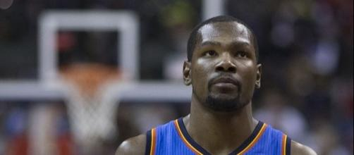 """Kevin Durant said wanted to move on from the incident and """"keep playing basketball"""" -- Keith Allison via WikiCommons"""
