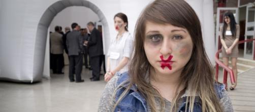 La Marcha en Ciudad de México en contra de la violencia de género
