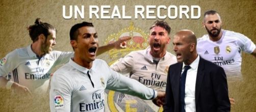 Le Real Madrid de Zizou est sur le point de battre le légendaire record du roi Pelé avec Santos.