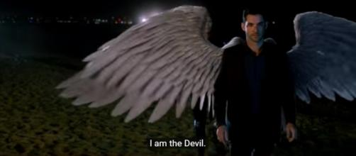 "Lucifer opens up to Chloe Decker about his identity in ""Lucifer"" Season 3. (Photo:YouTube/TVPromosDB)"
