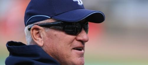 Maddon managing the Rays - Flickr