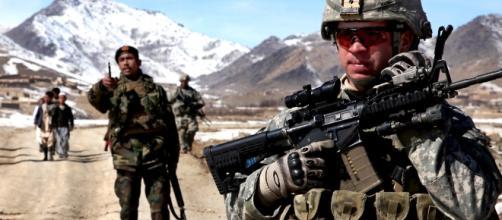 Patrol in Afghanistan by [Image via The U.S. Army/Flickr]