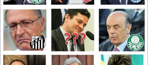 Times dos políticos brasileiros