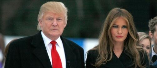 Two experts analyse Donald and Melania Trump's body language over ... - redonline.co.uk