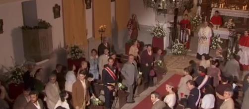 """Una scena de """"il Segreto"""" in onda in Italia"""
