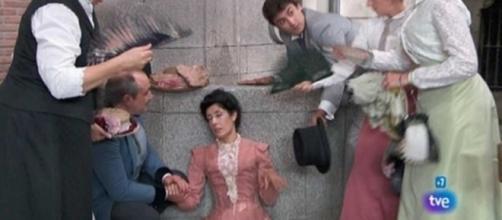 Una Vita, anticipazioni 25-30 settembre: l'arresto di Fabiana, Rosina scandalizzata