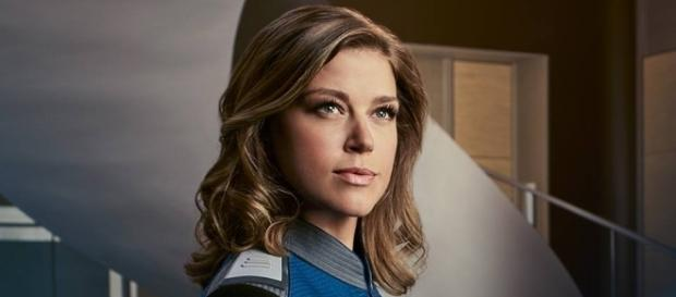 Adrianne Palicki currently stars on 'The Orville' but she used to be Wonder Woman, too. ~ Facebook/TheOrville