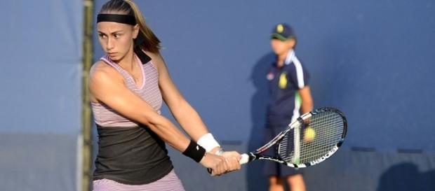 Aleksandra Krunic was winless in four previous matches against Lesia Tsurenko -- Steven Pisano via WikiCommons
