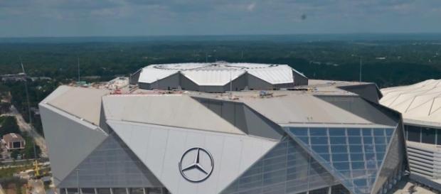 Atlanta Falcons Stadium. Photo by https://commons.wikimedia.org/Atlanta Falcons