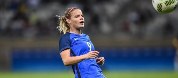 Eugénie Le Sommer continue de marquer pour la France (Getty Images).