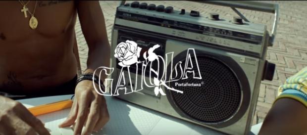 """""""Gaiola portafortuna"""", screen del video"""