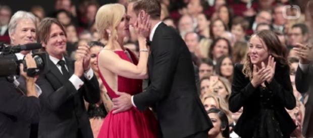 "Nicole Kidman won her first Emmys being an Outstanding Lead Actress for ""Big Little Lies."" YouTube/Wochit"