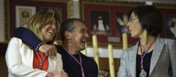 Susana Díaz, Kichi y otros dirigentes de Podemos se disputan el ... - laicismo.org