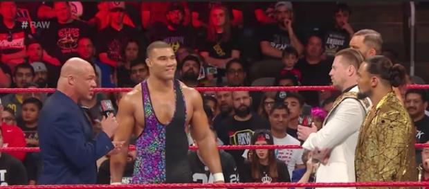 WWE 'Raw' featured Jason Jordan competing in a Six Pack Challenge to become top contender for the Intercontinental title. [Image via WWE/YouTube]