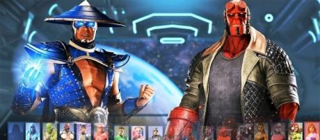 'Injustice 2' Hellboy and Raiden's portraits leaked ahead of schedule(SinX6/YouTube Screenshot)