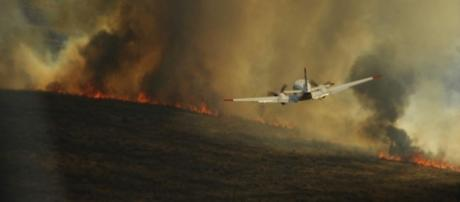 Wildfires rage across the Western US https://commons.wikimedia.org/wiki/File:Flickr_-_DVIDSHUB_-_Texas_Wildfires_(Image_6_of_9).jpg