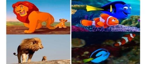 Algumas cenas, além de fofas, também foram inspiradas na vida real