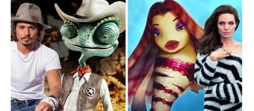 Alguns personagens são inspirados em atores reais do cinema