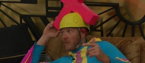 Big Brother 19 Jason Dent. CBS Livefeeds/Screen shot