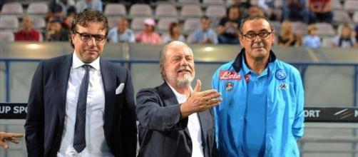 Calciomercato Napoli Ounas Roma United - contropiedeazzurro.it