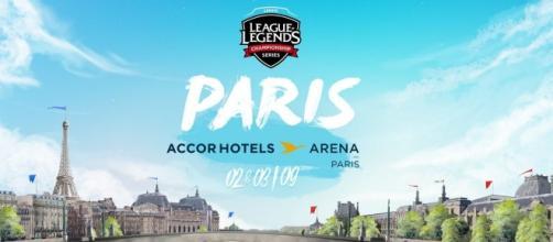 Ciel bleu pour League of Legends à Paris !
