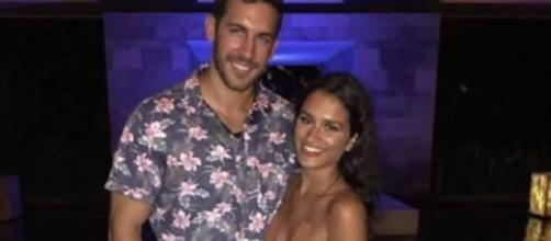 Derek Peth and Taylor Nolan celebrated special engagement. YouTube/Celebrity Status